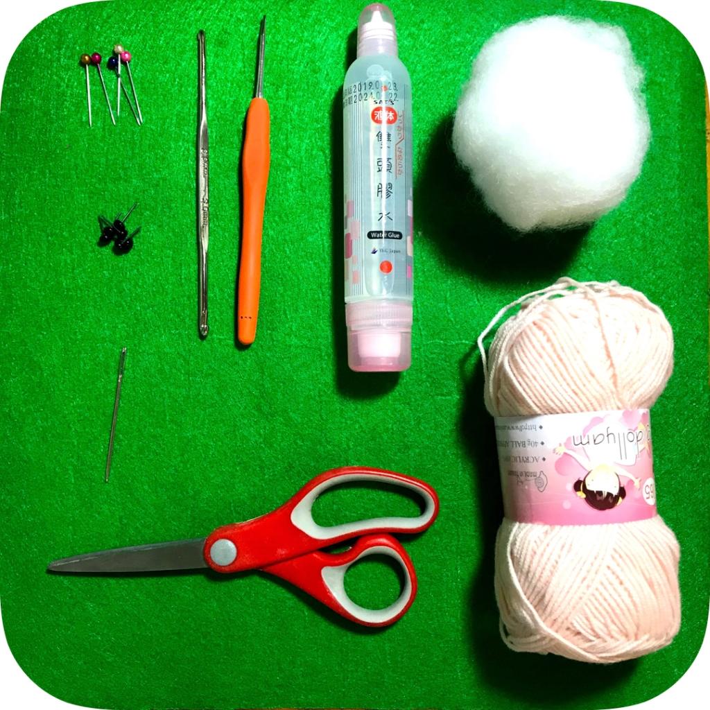 鉤針編織工具介紹