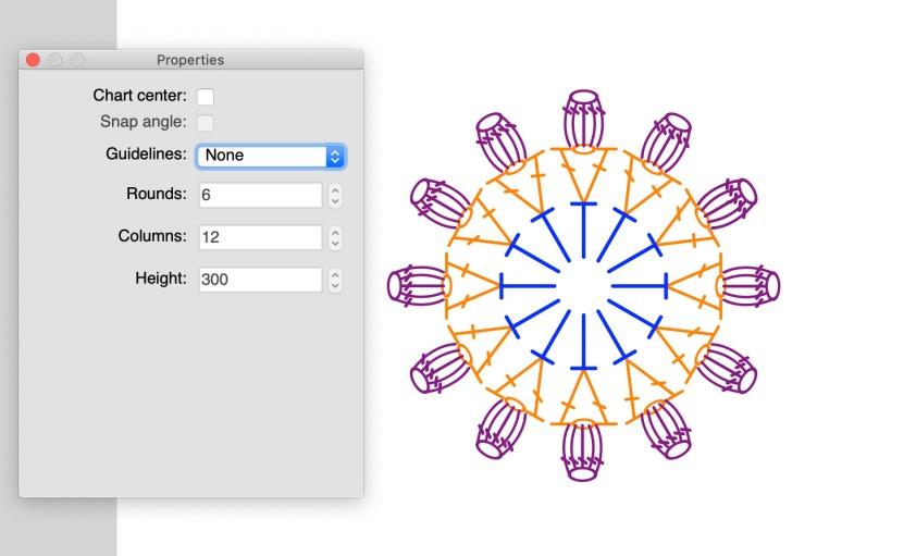 crochet charts tutorial 織圖教學